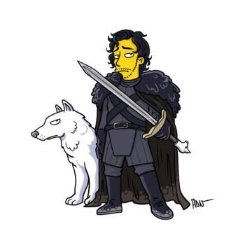 Game-Of-Thrones-Jon-Snow-simpson