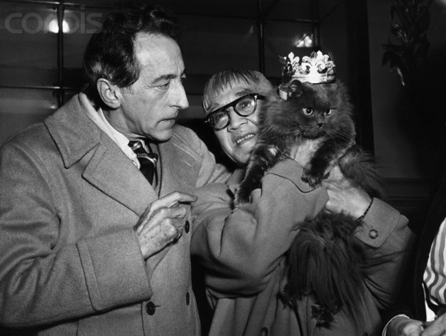 Jean-Cocteau-and-cat-2