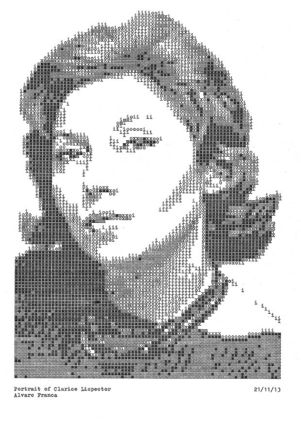 clarice-lispector-typewritten-portrait-daktilodan-portresi