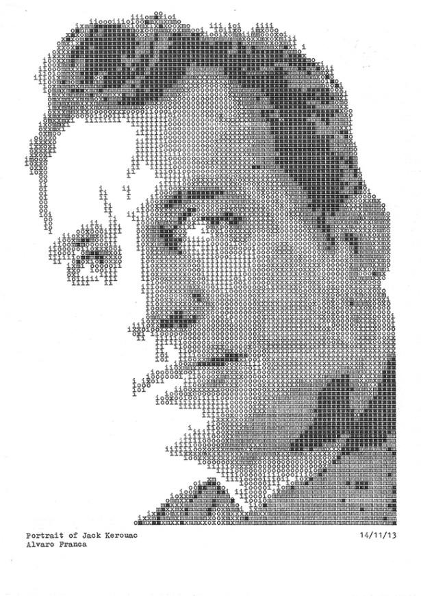 jack-kerouac-typewritten-portrait-4-daktilodan-portresi