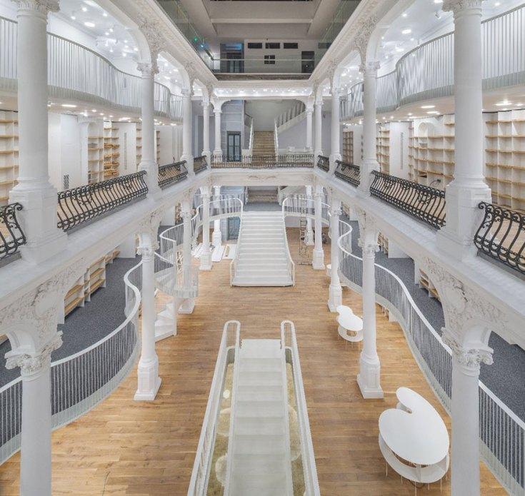 carousel-of-light-library-bucharest-bookstore
