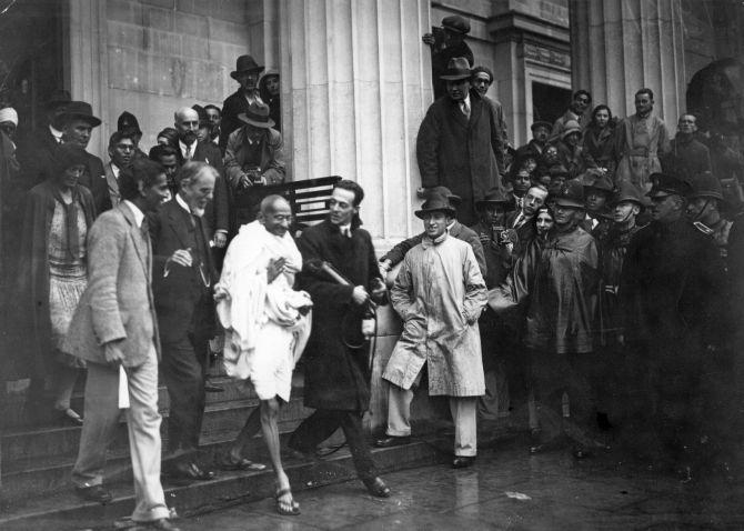 Gandhi In London