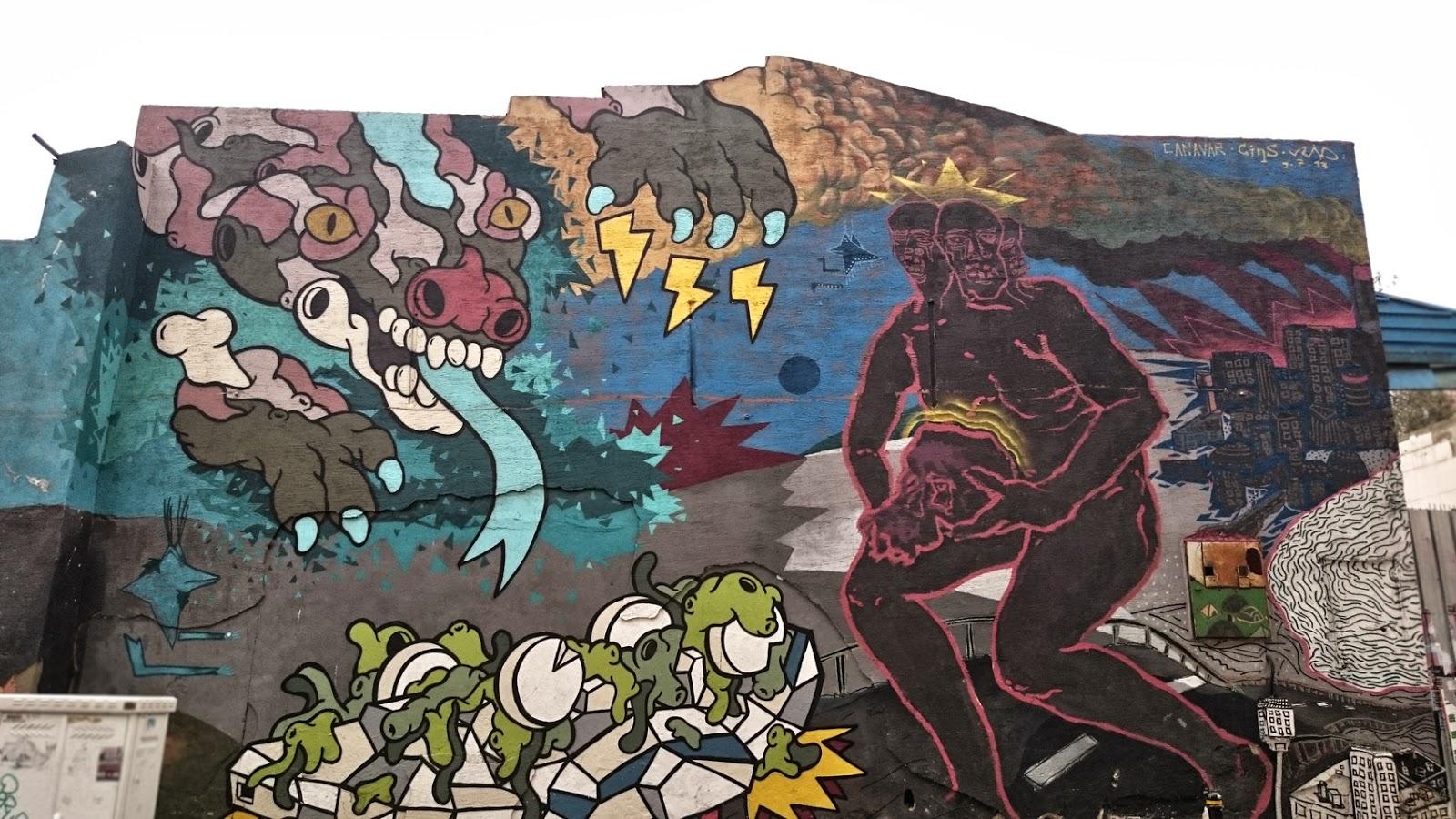 Mural Istanbul Sokak Sanati Festivalleri Eskimeyen Kitaplar