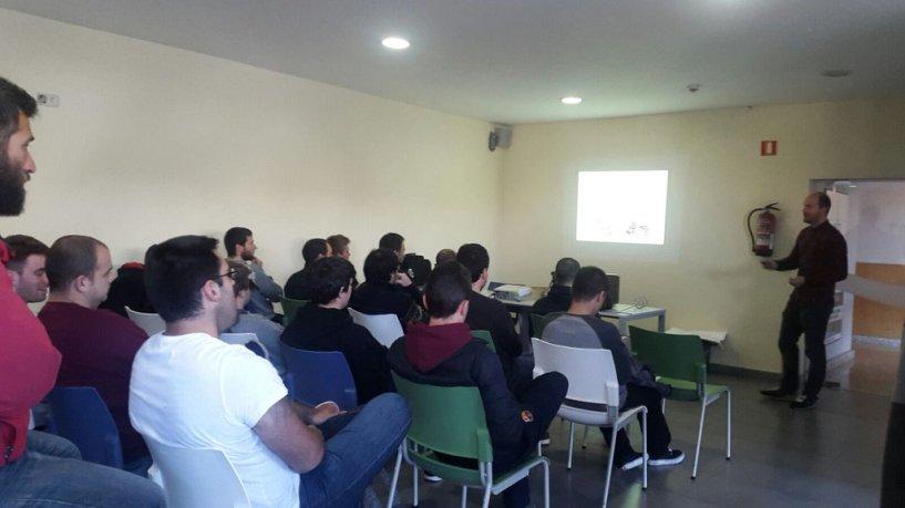 55 personas han participado en la sesión de formación