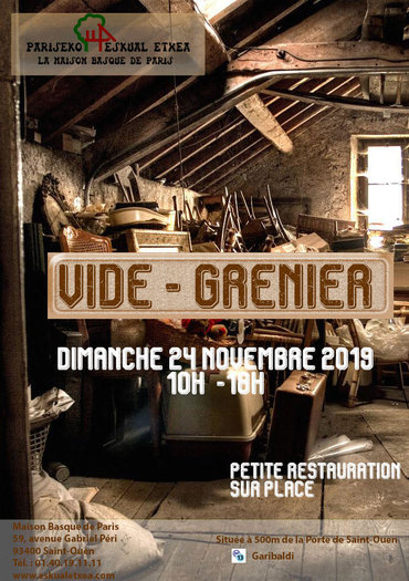 vide grenier basque association of paris pariseko eskual etxea