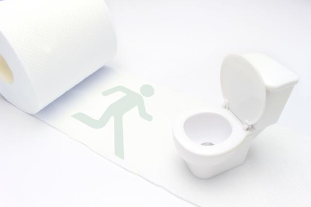 洋式トイレの正しい座り方