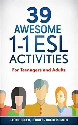 1 on 1 ESL activities