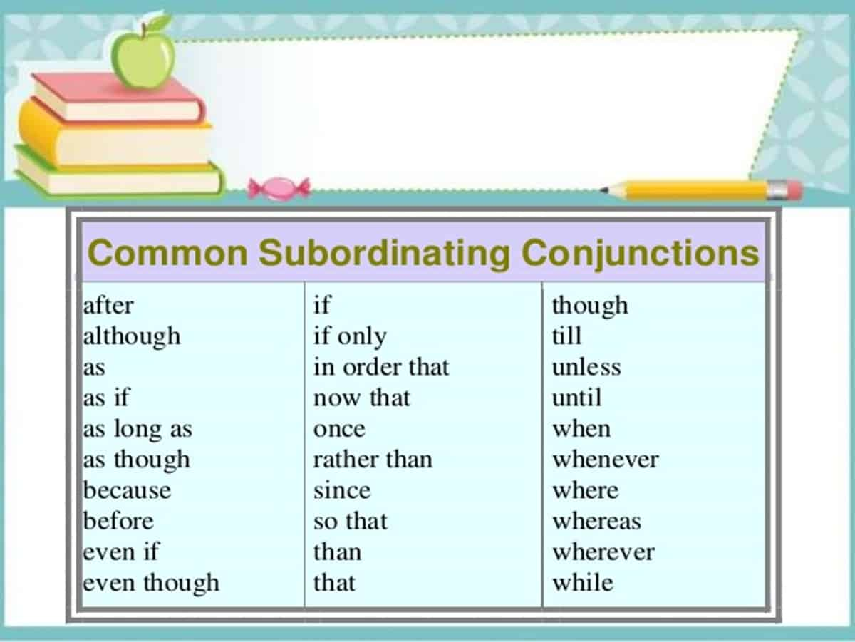 Conjunctions In English Grammar Rules And Examples
