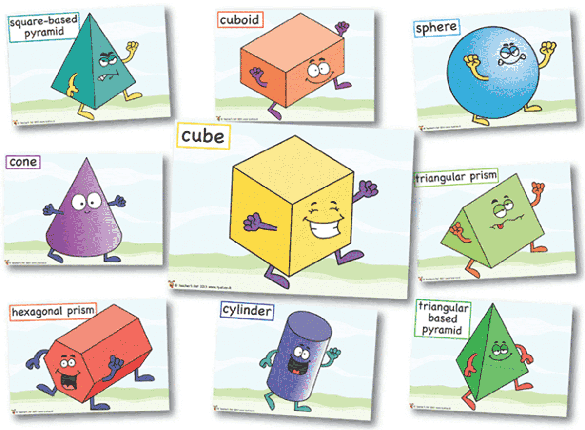 Learn English Vocabulary Through Pictures: Shapes and Colors 15