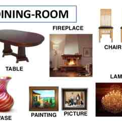 Chair Parts Names Ll Bean Rocking Quotfurniture Quot Vocabulary 250 43 Items Illustrated Esl Buzz