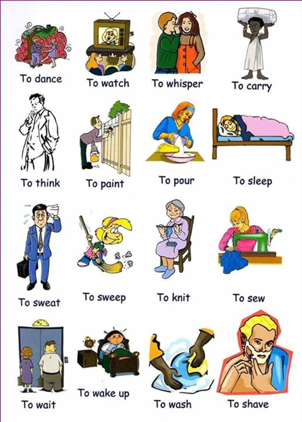 Common Verbs in English