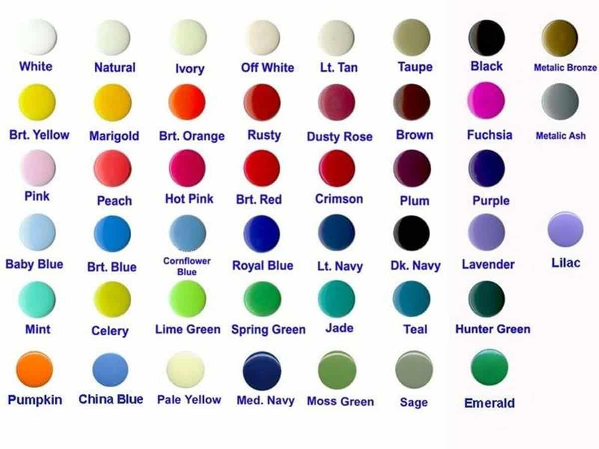 Learn English Vocabulary: Colours/ Colors 17