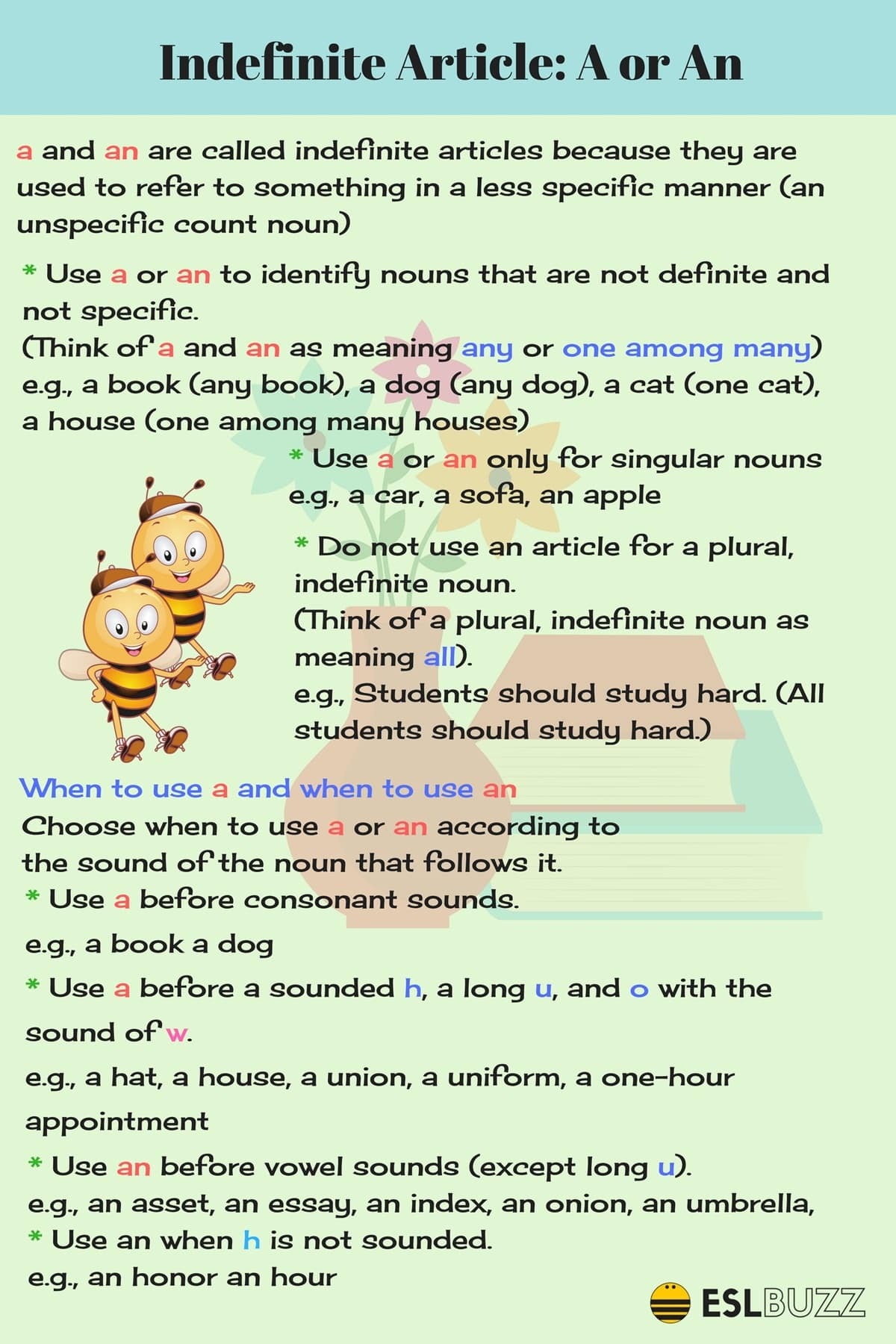 English Article Worksheet