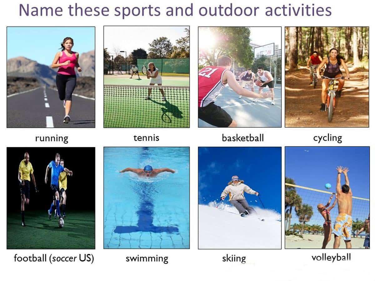 outdoor activities vocabulary in english esl buzz. Black Bedroom Furniture Sets. Home Design Ideas