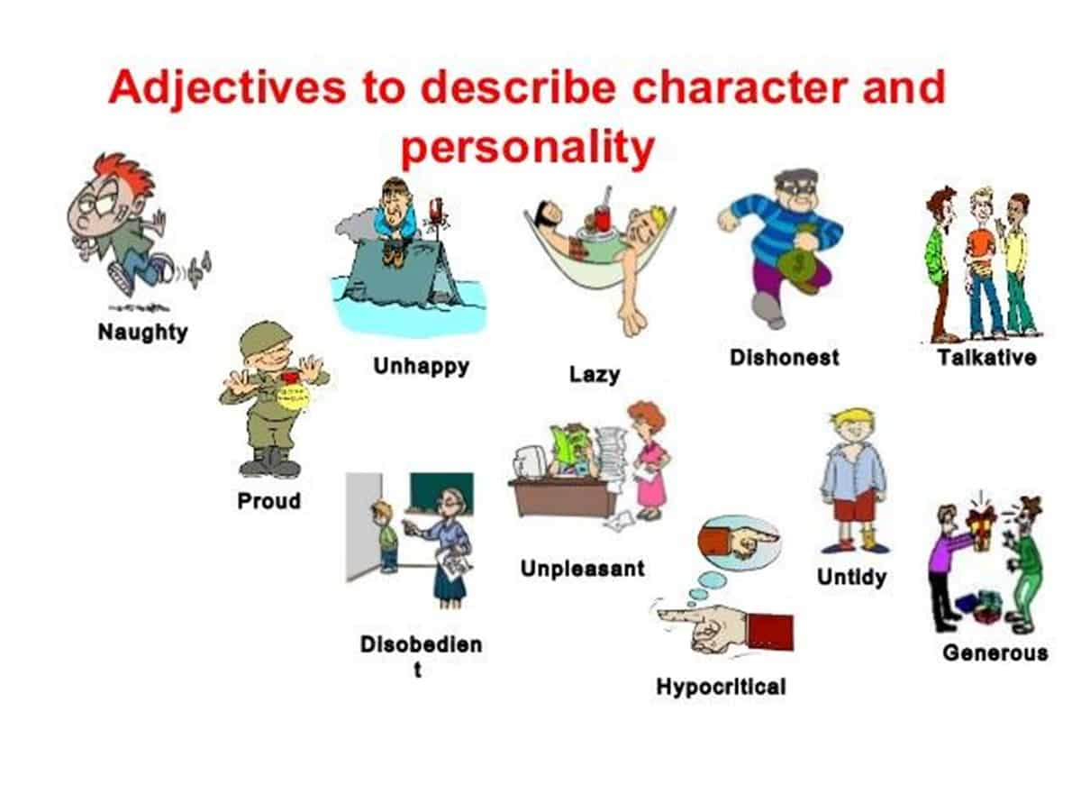 How To Describe Someone S Character And Personality In English Esl Buzz