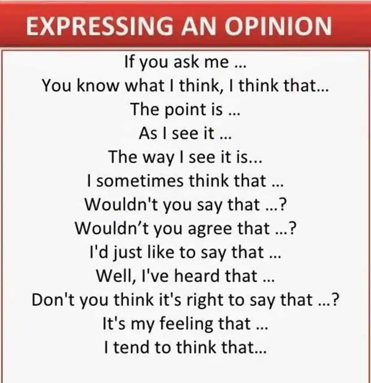 Useful Phrases for Group Discussions in English 14