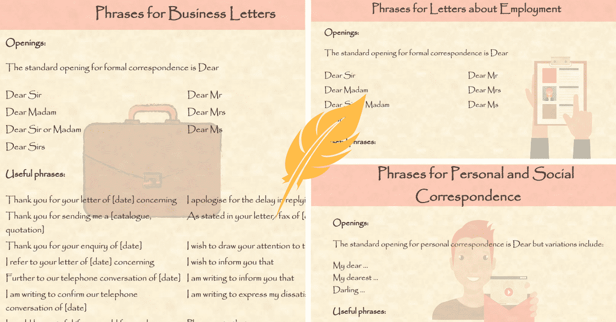 letter english formal
