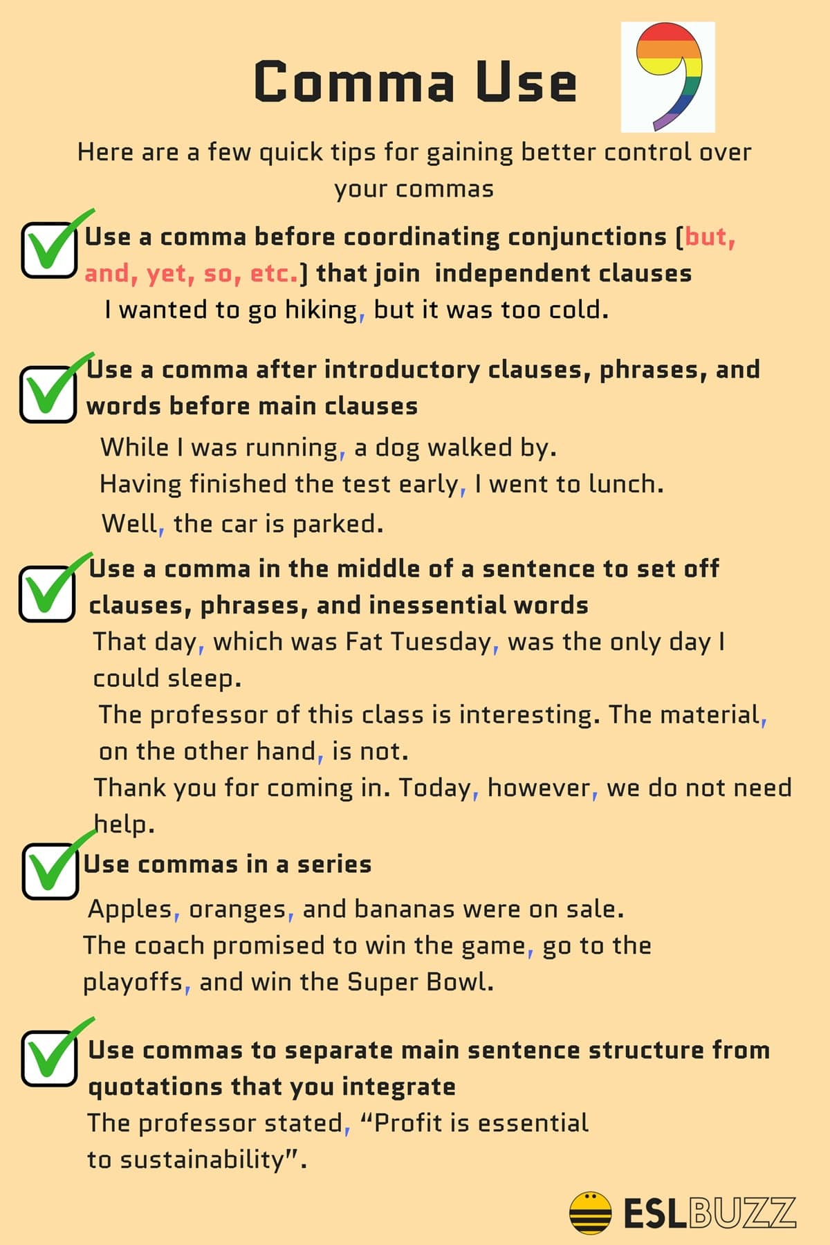 Comma Rules 8 Rules For Using Commas Correctly