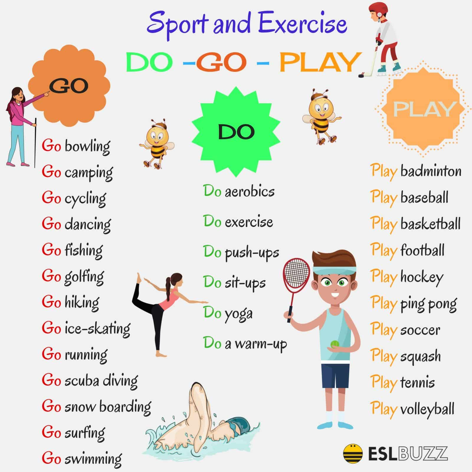 How To Use Do Amp Go And Play With Sports And Activities