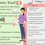 Informal Vs Formal English Writing A Letter Or Email Eslbuzz Learning English