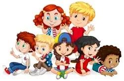 children, feeling, present simple