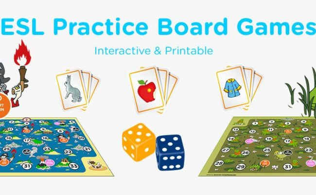 Games For Learning English Vocabulary Grammar Games