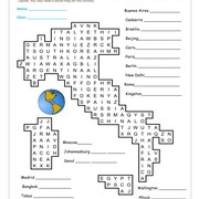 Adjectives Wordsearch Puzzle Worksheet