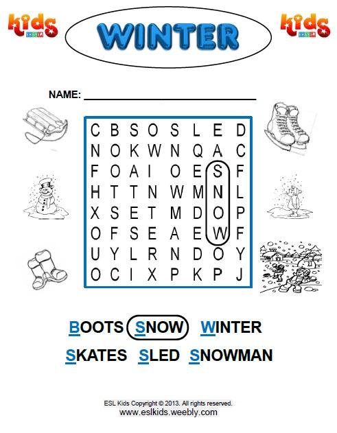 All Worksheets  Winter Worksheets