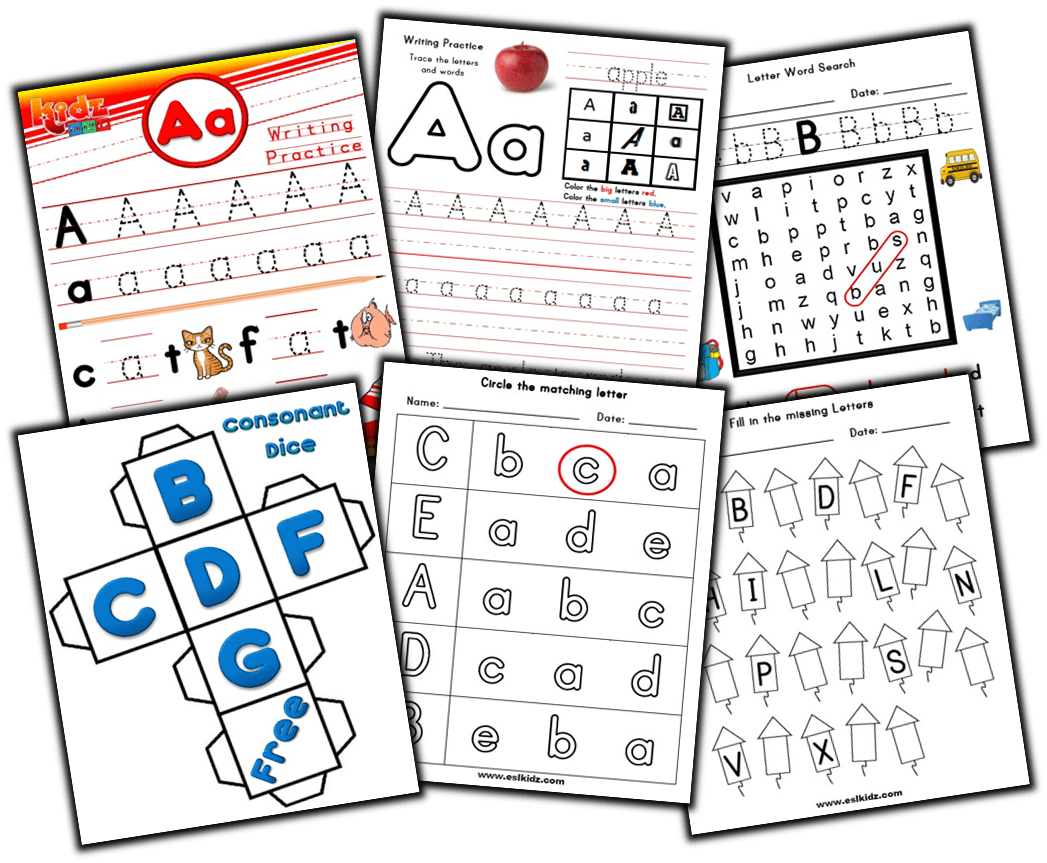 Activities Games And Worksheets For Kids