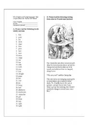 English teaching worksheets: School
