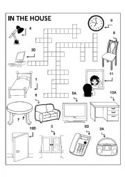 English worksheets: house worksheets, page 49
