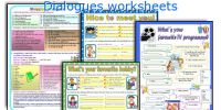 All Worksheets  Dialogue Writing Worksheets For Grade 4 ...