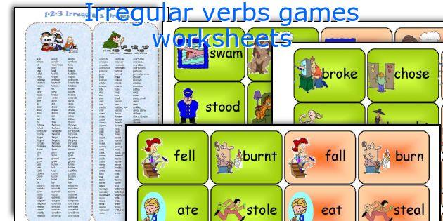 Lesson Plans Esl Irregular Verbs