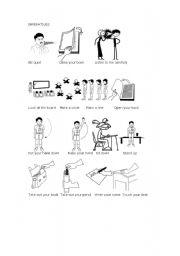 Imperatives worksheets