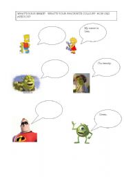 English Worksheets Simple Dialogues