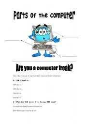 Computers worksheets