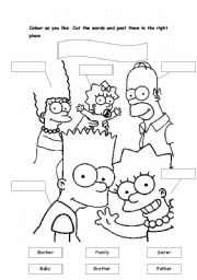 English Teaching Worksheets The Simpsons