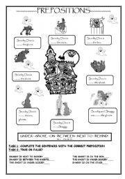 Scooby Doo worksheets