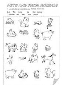also pets and farm animals esl worksheet by pfreites rh eslprintables