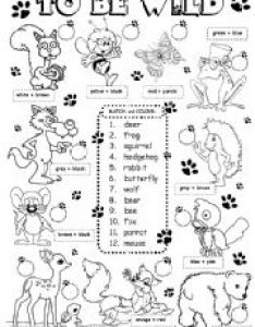To be wild animals level elementary age downloads also english exercises rh englishexercises