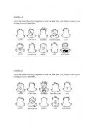 English worksheets: Emotions adjectives