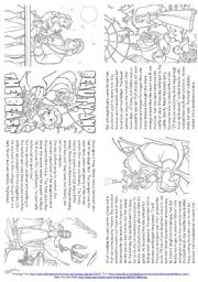 Beauty and the Beast worksheets