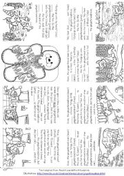 The Gingerbread Man worksheets