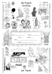Portfolio cover worksheets