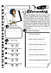 RC Series Level 1_37 Cleopatra (Fully Editable + Answer