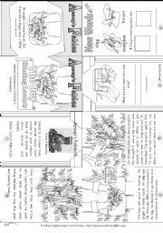Fables worksheets