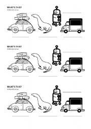 English Exercises: Dinosaur Vocabulary