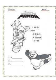 English worksheets: Kung fu Panda 2