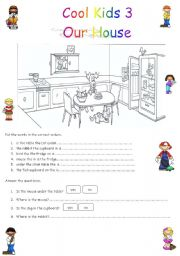 Prepositions In On Etc Cool Kids 3