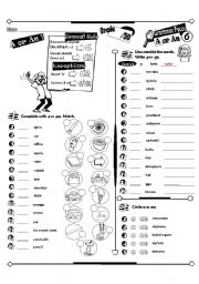A/An worksheets